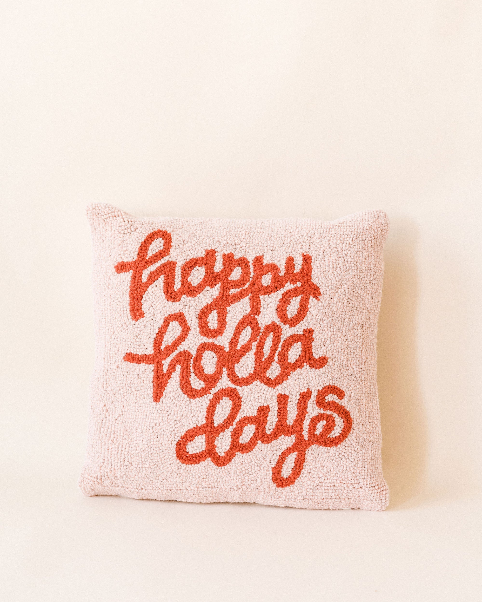 Happy Hollerdays Pillow