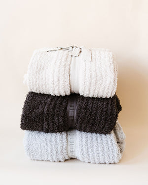 Cozy Chic Ribbed Throw
