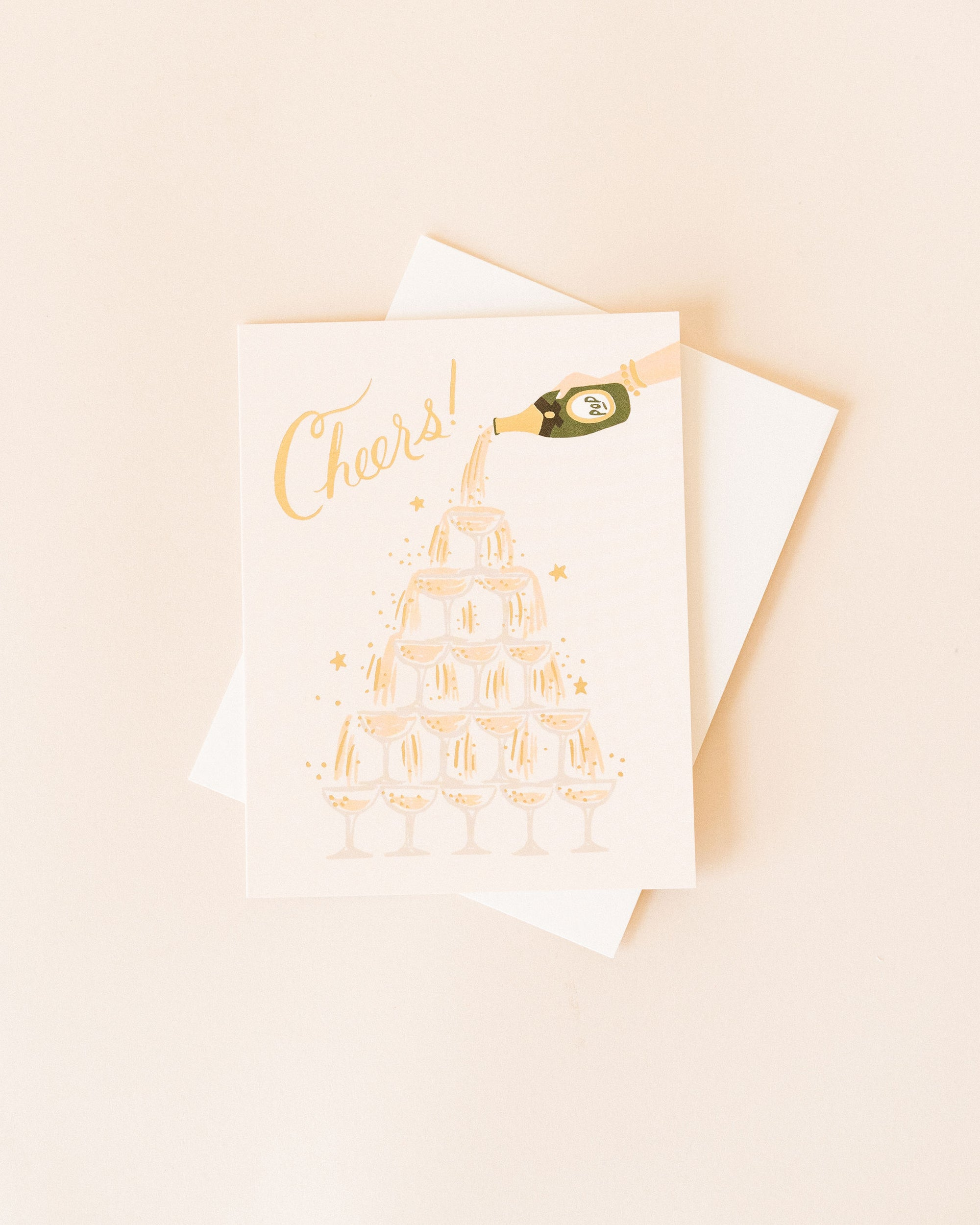 Champagne Cheers Card