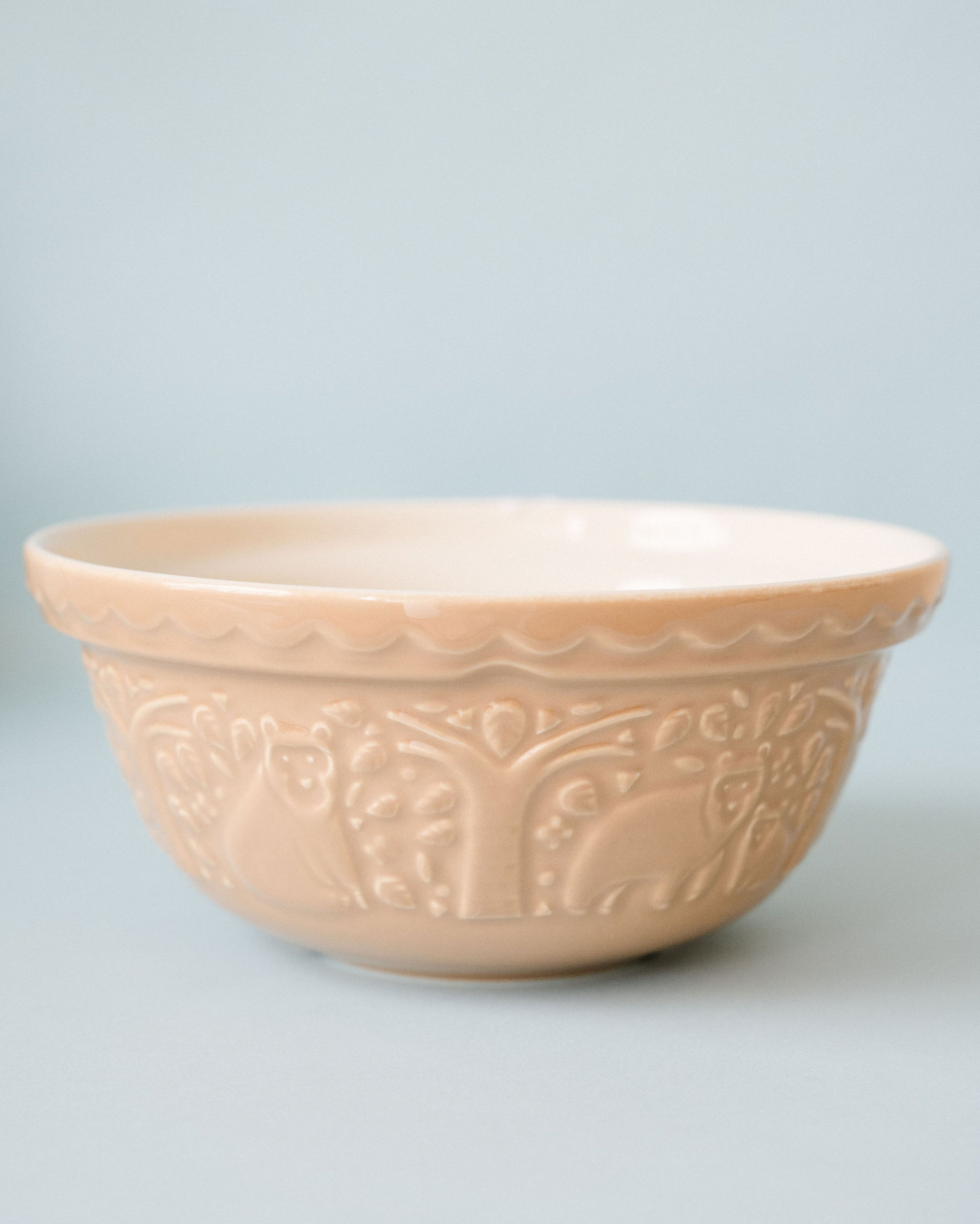 In the Forest Mixing Bowl-brown 9.5""