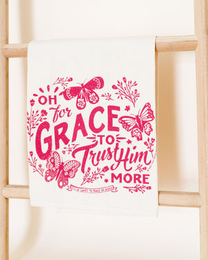 Oh For Grace Hymnal Towel