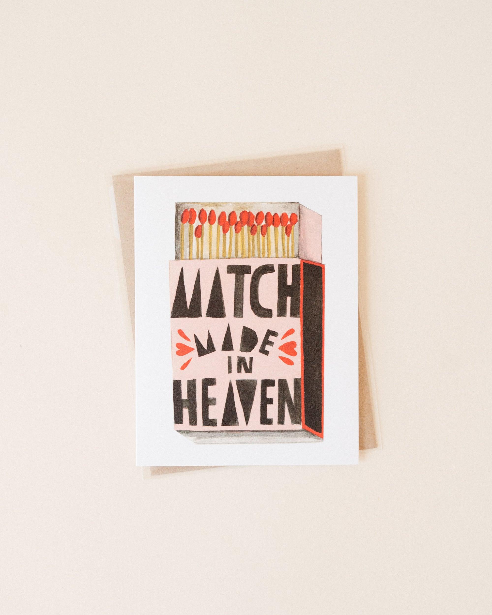 Match Made In Heaven Card