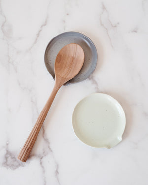 Reactive Glaze Spoon Rest