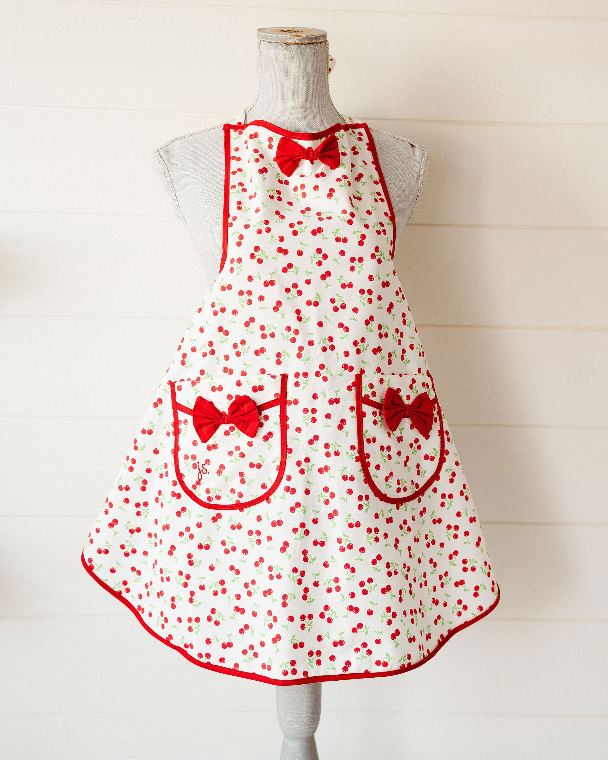 Retro Cherries Apron