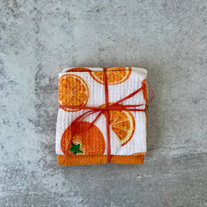 Colorful Citrus Dish Towels/2