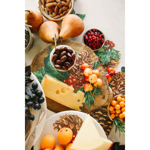 Winter Botanicals Serving Set