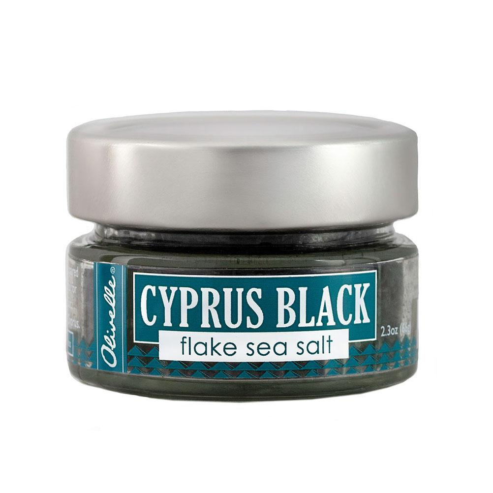 Cyprus Black Pyramid Lava Sea Salt