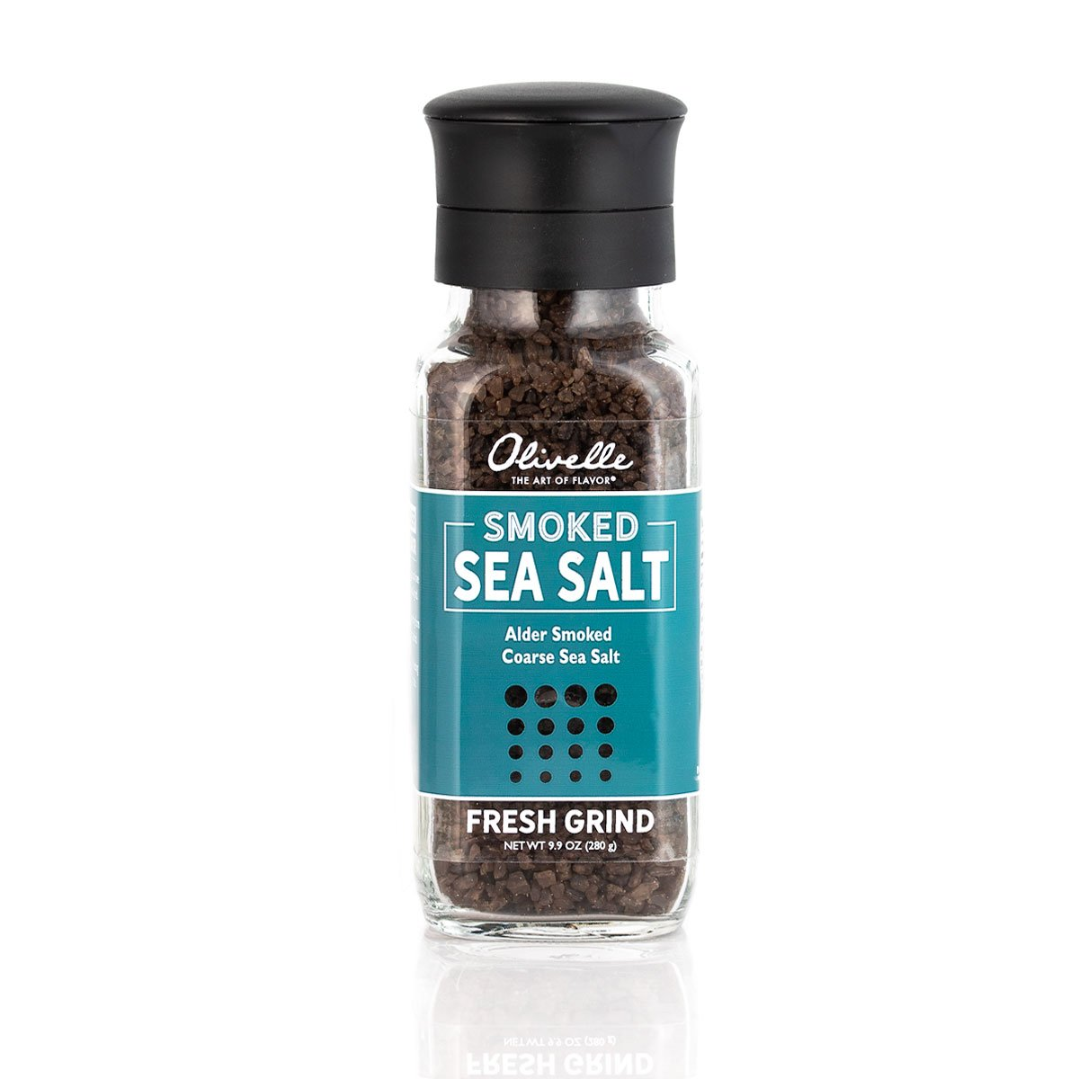 Alder Smoke Sea Salt Grinder