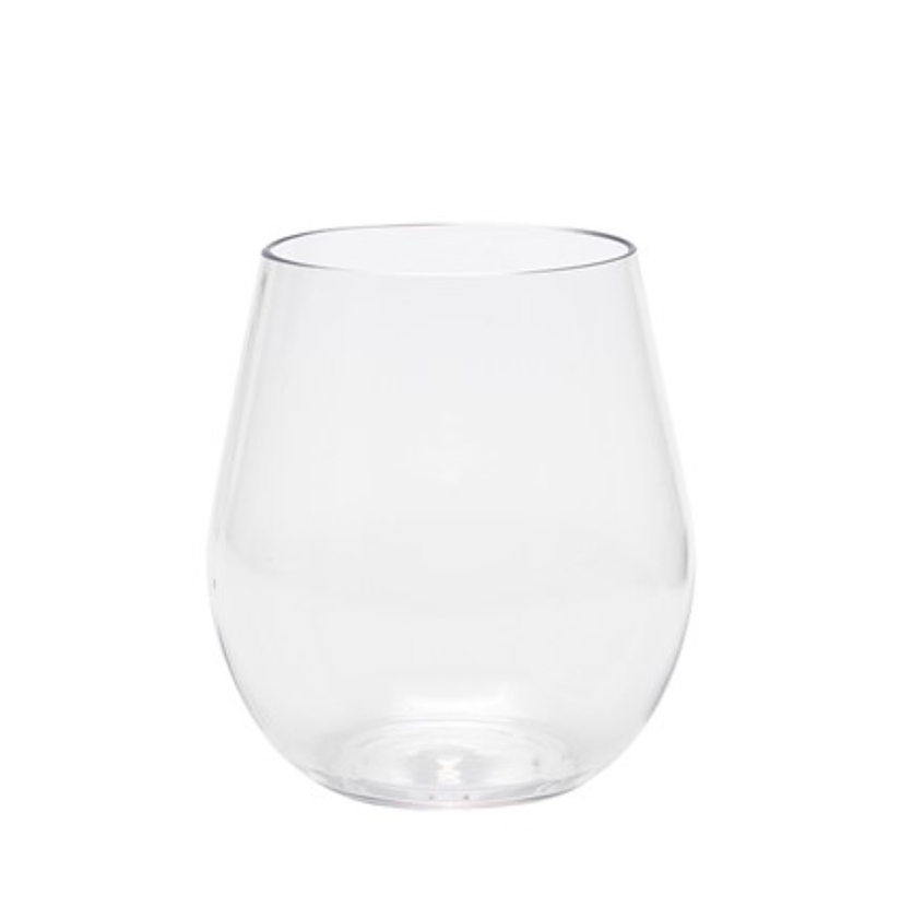 Tritan Stemless Wine Glass