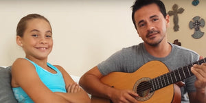 This Cutie's Singing Voice Shines as She Bonds With Her Dad Through Music