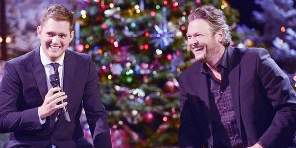 Blake Shelton and Michael Bublé's New Holiday Classic Will Warm Your Heart