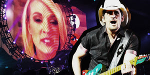 Carrie Underwood Couldn't Attend This Gig with Brad Paisley, but They Still Had a Houseful of Folks Applauding