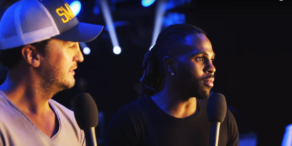 There's Lots to See Behind the Scenes of Luke Bryan and Jason Derulo's CMT Performance