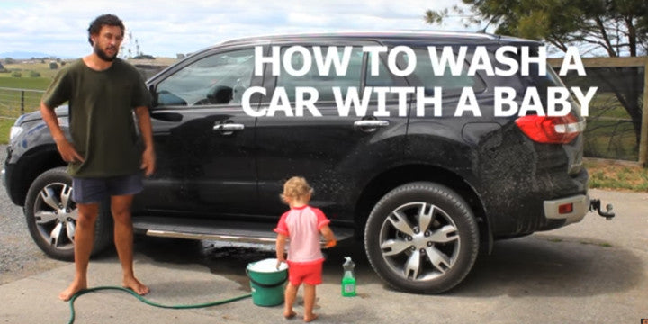 The Secret to a Super-Clean Car: Wash It with Your Baby!