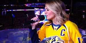 Carrie Underwood's Surprise Performance Brings Double the Fun to Nashville Predators Game