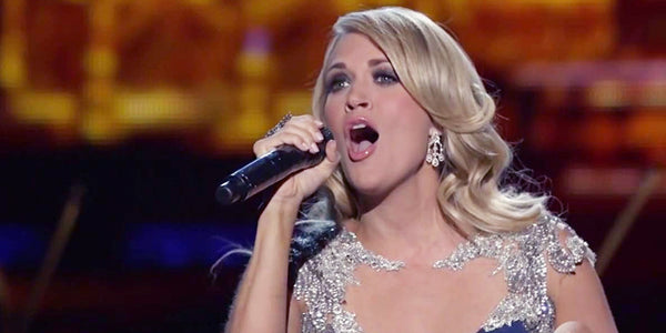 Carrie Underwood's Holiday Singing Always Moves Us; But This Performance Shows Us Something Extra