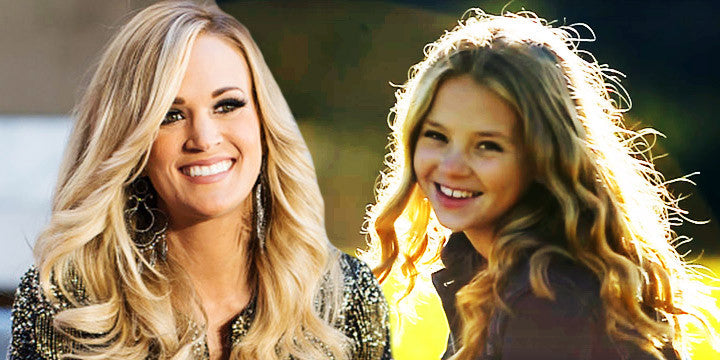 Carrie Underwood's Inspiring This Amazing Teen to Be a Great Singer