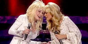 Carrie Underwood and Dolly Parton With a Beautiful Duet!