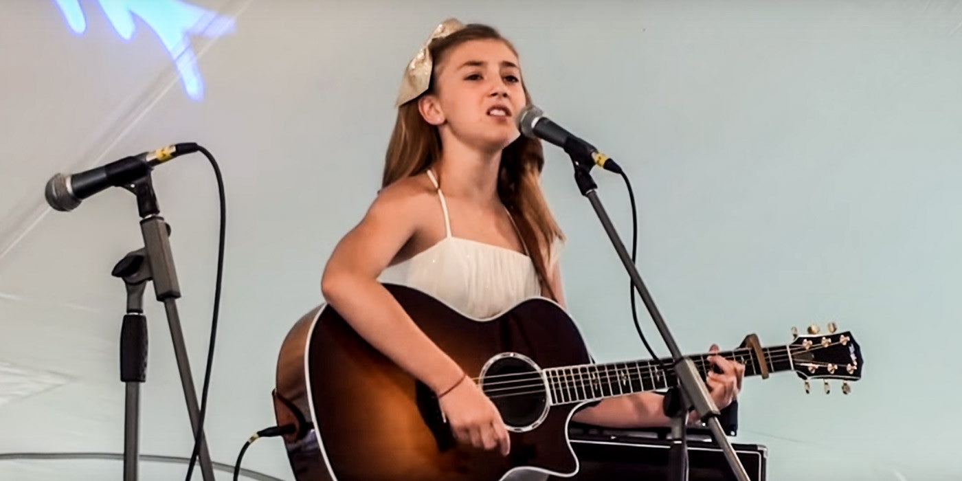 This Adorable Young Carrie Underwood Fan's Singing Will Blow You Away!