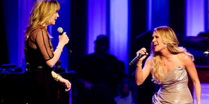 Whoa! Carrie Underwood & Jennifer Nettles Slay This Dolly Parton Cover at the Grand Ole Opry!