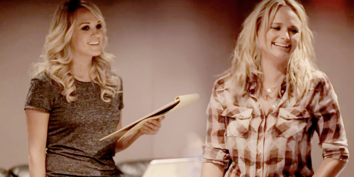 Have You Seen Miranda Lambert and Carrie Underwood's Behind the Scenes Duet Video?