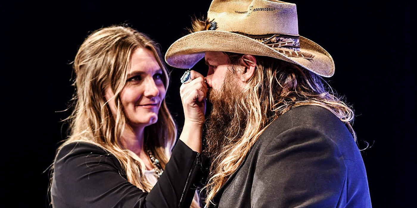 Dark Clouds, Beware… Chris Stapleton's Bringing in the Light with This Sunny Cover Song!