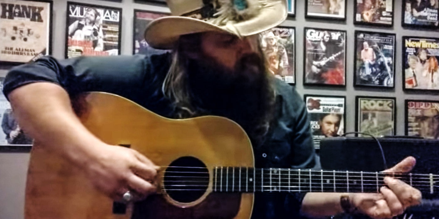 Every Time You Think Chris Stapleton Can't Get More Awesome, He Does Something Like This...