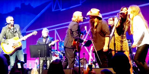 Chris and Morgane Stapleton Shine on Stage with Little Big Town and Eric Church