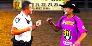 A Crazy Rodeo Clown Challenges This Cop to a Dance-Off; No One Expected What Happened Next