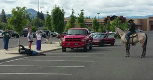 Hero Cowboy Helps Stop Bike Thief In Walmart Parking Lot