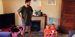 Parenting Done Right! Check out How This Dad Plays Dress-Up with His Kids