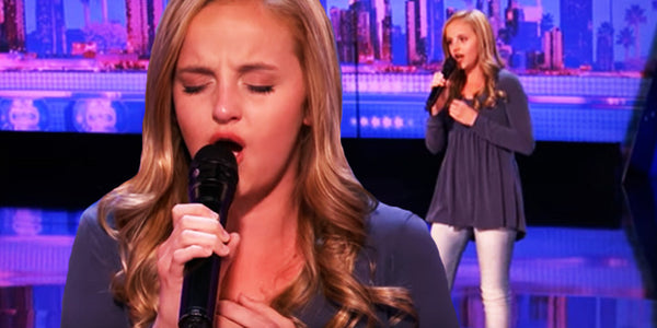 Brave Daughter's Song Moved Us to Tears as She Sang for Her Ill Dad on America's Got Talent