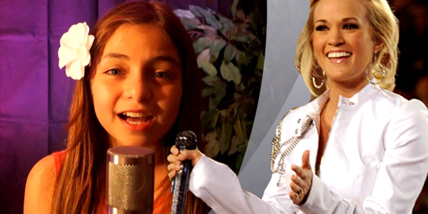 11 Year Old Girl Impresses Carrie Underwood While Taking Over the Stage!