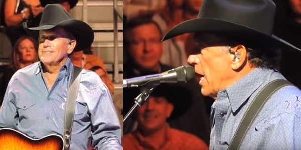 When George Strait Plays This Tribute to a Late Country Megastar, the Audience Gets Emotional