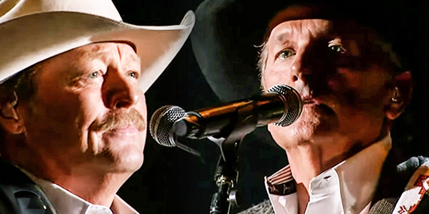 Our Hearts Were Moved When George Strait and Alan Jackson Memorialized a Country Legend