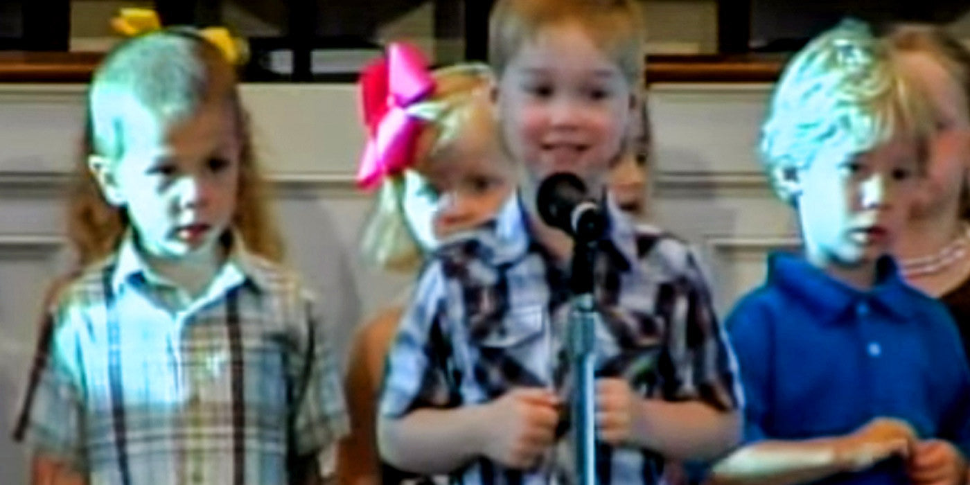 Cute Kid Surprises Everyone When He Starts Singing George Strait Song