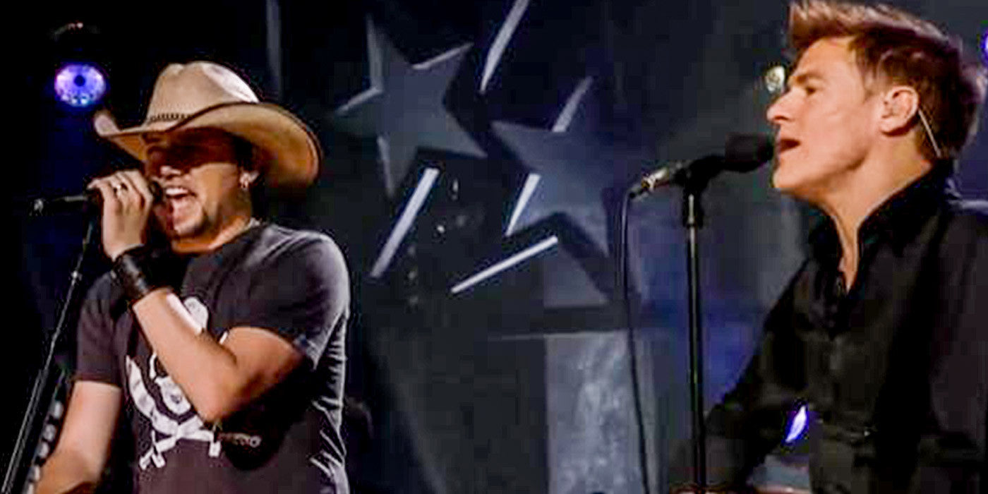 Jason Aldean Joins Bryan Adams to Sing The 80's Hit 'Heaven'