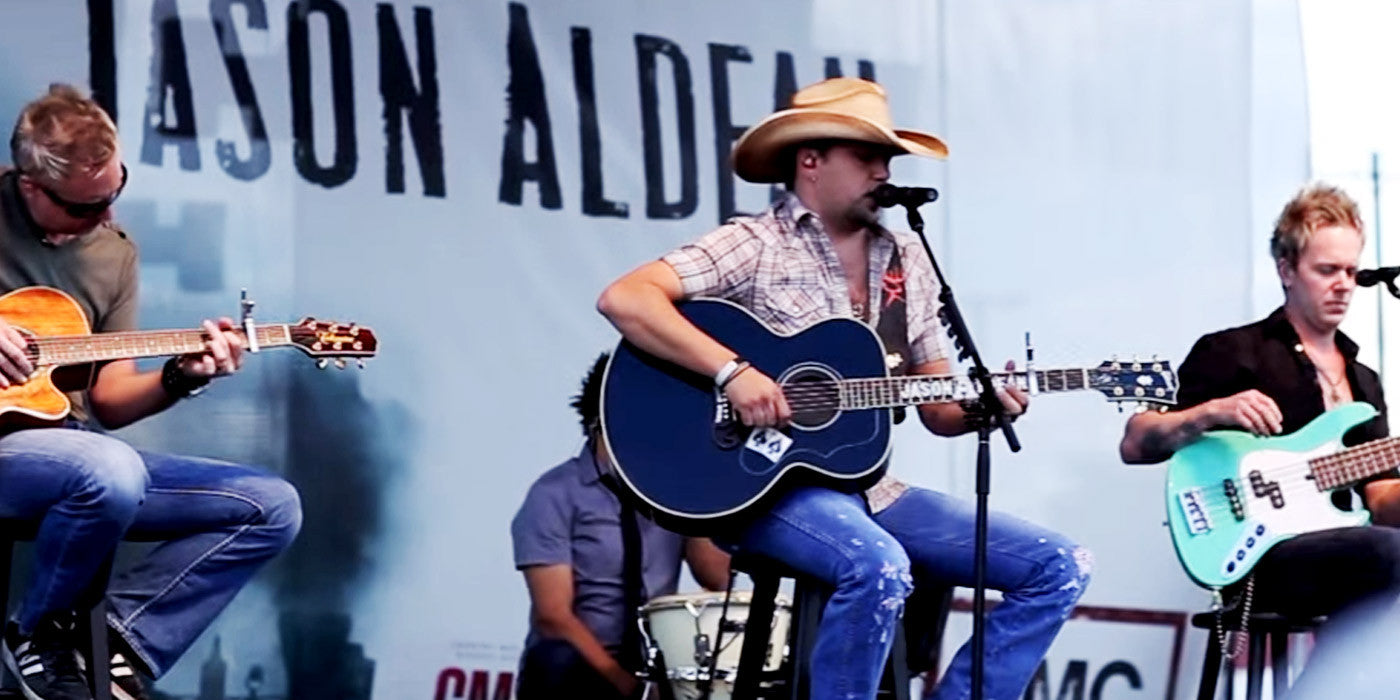 This Performance by Jason Aldean Practically Broke Our Hearts