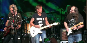 How Many Famous Rockers Can You Fit Onstage with Keith Urban?  Let's Find Out...