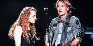 Keith Urban's Onstage Duet With a Cute Concert Guest Will Make You Jealous!
