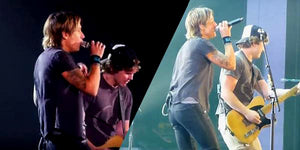 Our Jaws Dropped When We Saw What This Young Fan Did Onstage With Keith Urban!
