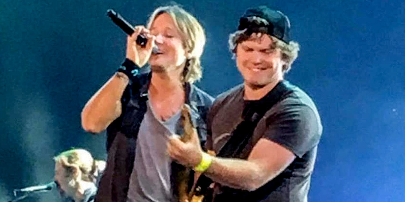 Keith Urban Fan Invited On Stage and Shocks Everyone With His Skills!