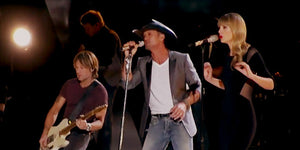 Did These Two Stars Outshine Tim McGraw During This Performance?  Let's Find Out...