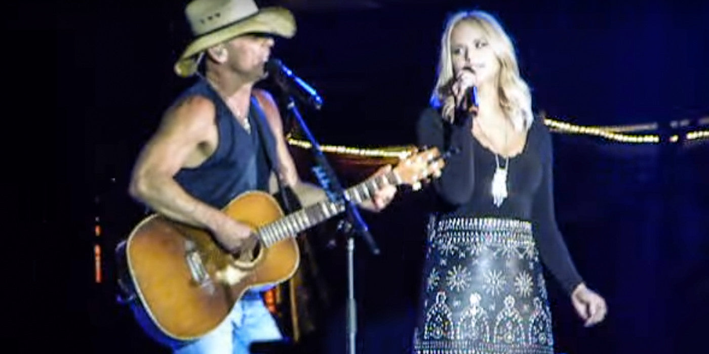 Kenny Chesney and Miranda Lambert Perform 'You and Tequila' in Seattle