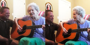 This Son's Duet with His 88-Year-Old Mom Will Melt Your Heart