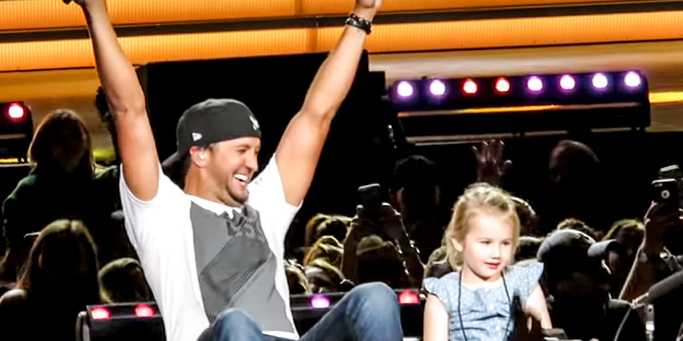 Luke Bryan Brings 5 Year Old Bella On Stage and She Steals the Show!