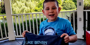 This Mom Gave Her Son Luke Bryan Concert Tickets and His Reaction Is Priceless!