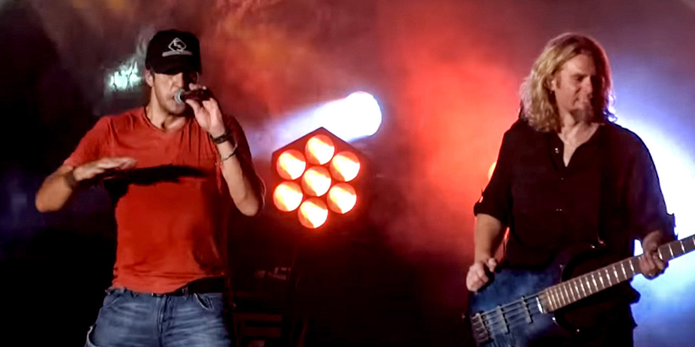 Luke Bryan Sings Ice Ice Baby and Baby Got Back