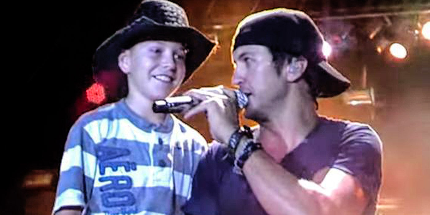 Cute and Shy Boy Learns How To Shake It With Luke Bryan