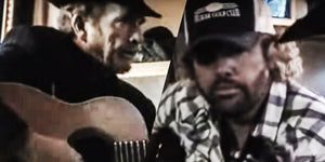 Rare Offstage Video of Toby Keith and Merle Haggard Made Us Laugh and Cry